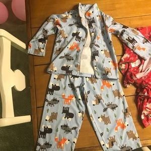 Child of Mine by Carter's Boys ButtonUp Pajama Set